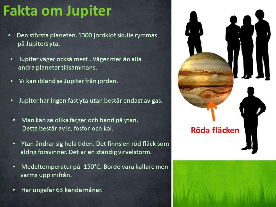 Fakta om Jupiter Röda fläcken
