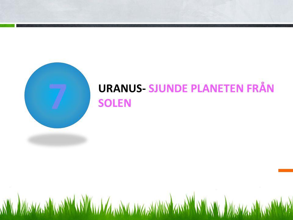 Uranus- sjunde planeten från solen