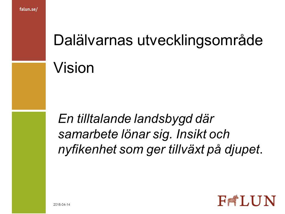 Dalälvarnas utvecklingsområde Vision
