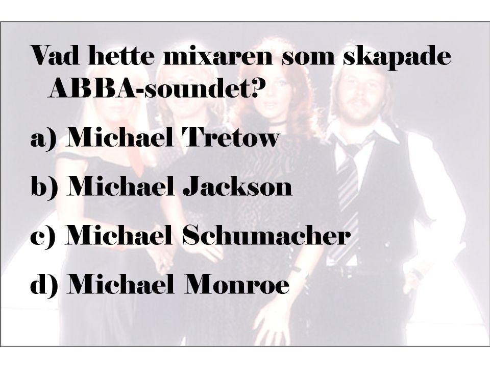 Vad hette mixaren som skapade ABBA-soundet