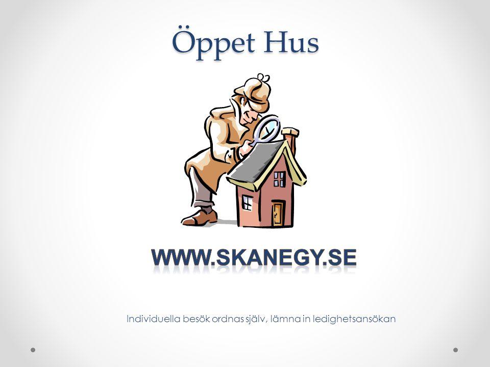 Öppet Hus www.skanegy.se