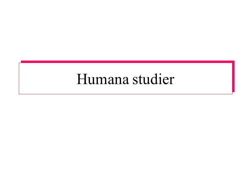 Humana studier