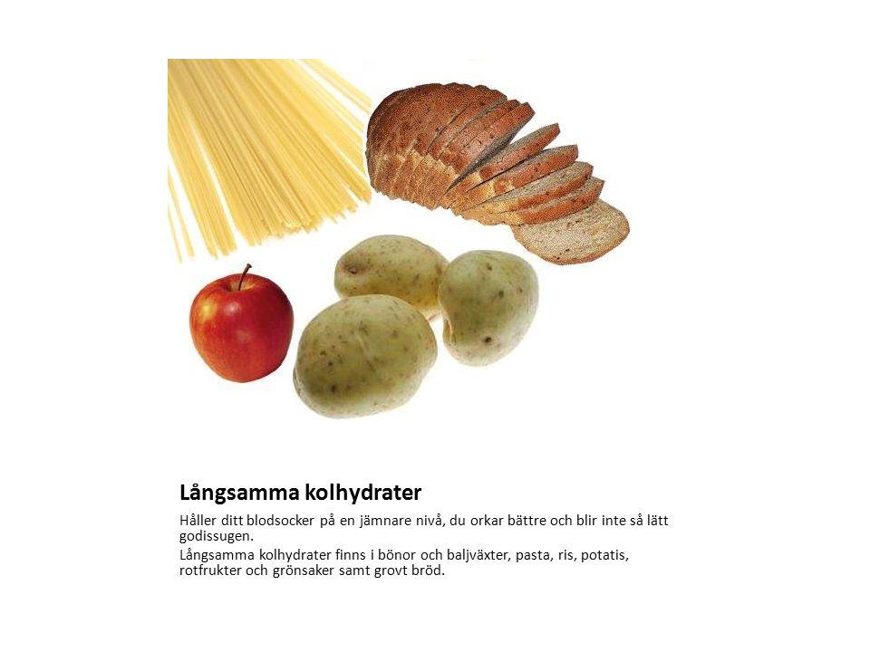 Långsamma kolhydrater