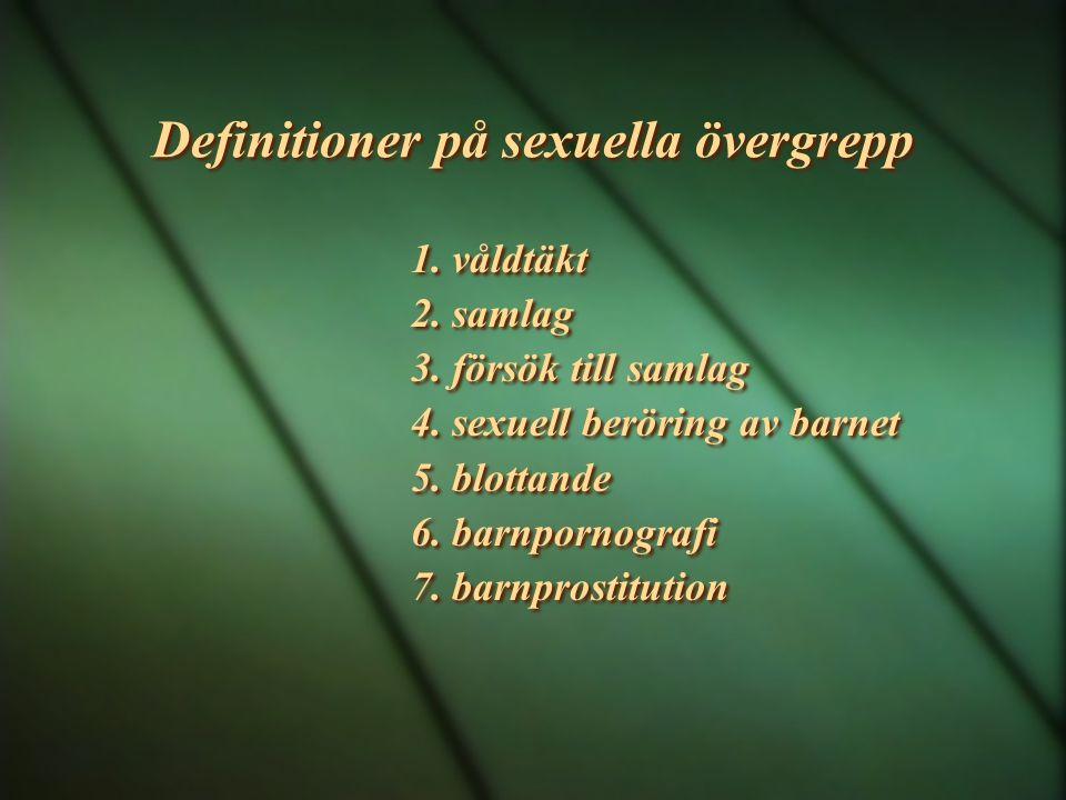 Definitioner på sexuella övergrepp