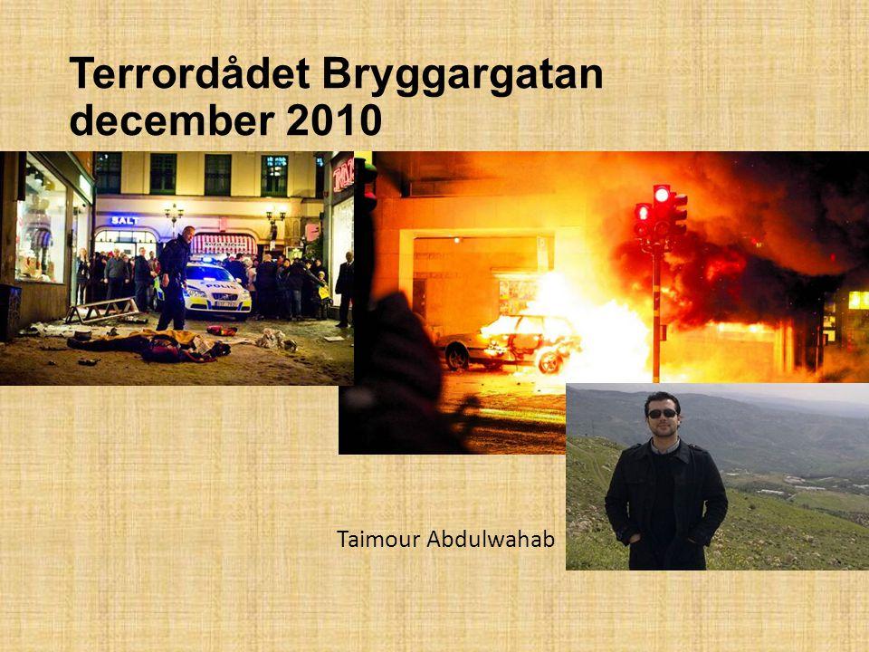 Terrordådet Bryggargatan december 2010