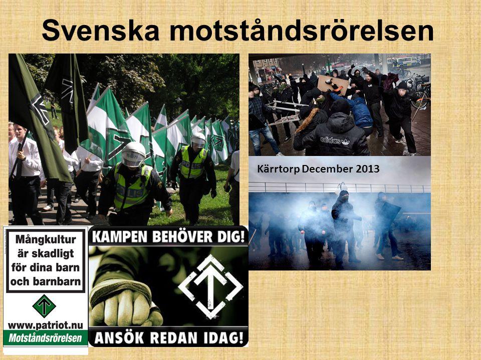 Svenska motståndsrörelsen