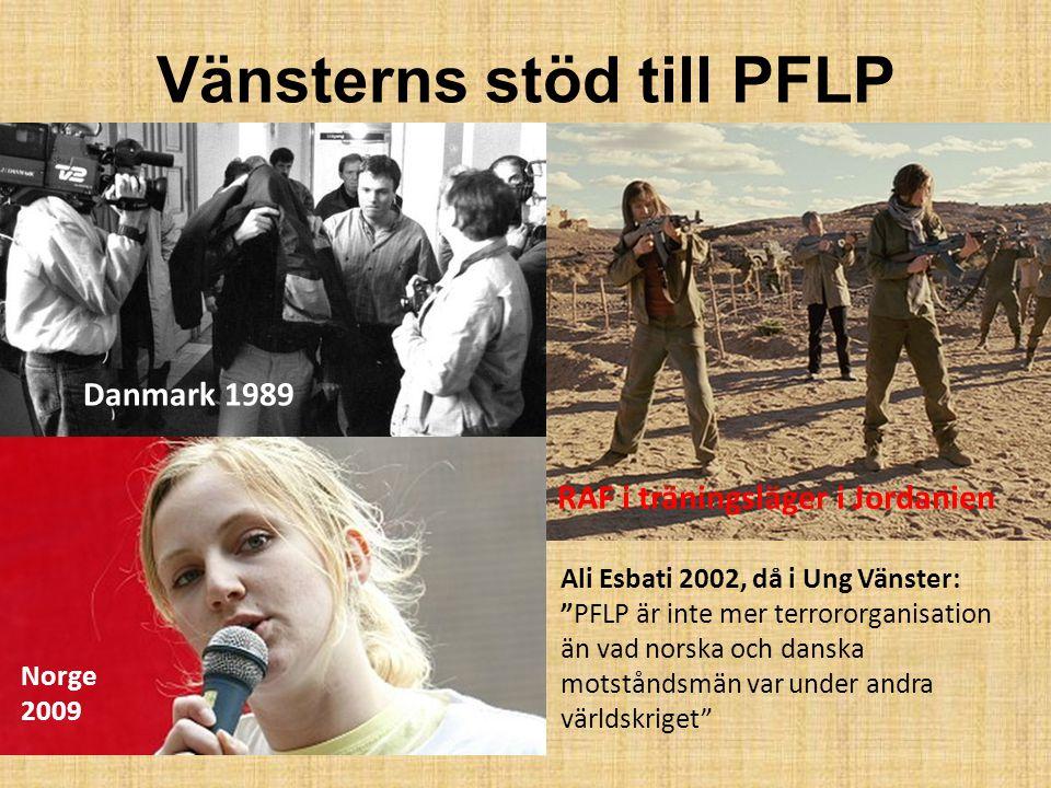 Vänsterns stöd till PFLP