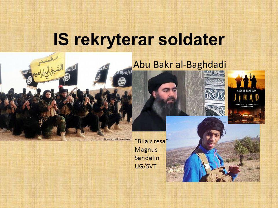 IS rekryterar soldater