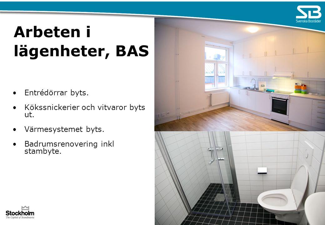 Arbeten i lägenheter, BAS