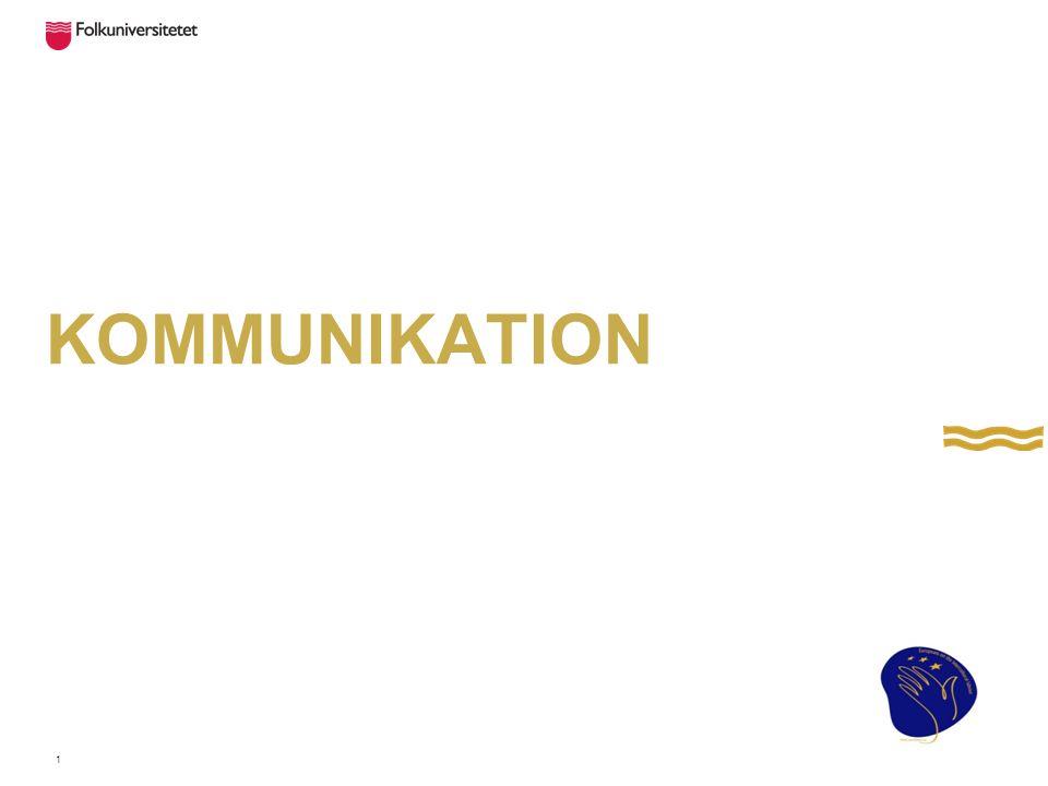 Kommunikation med andra människor