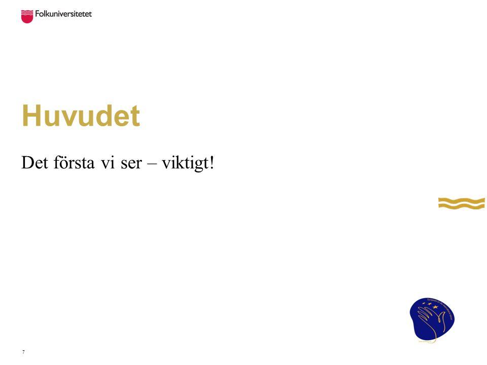 Håret Stor betydelse för imagen.
