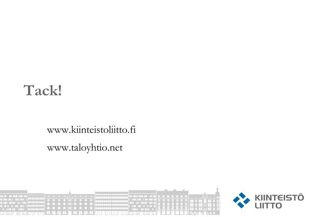 www.kiinteistoliitto.fi www.taloyhtio.net