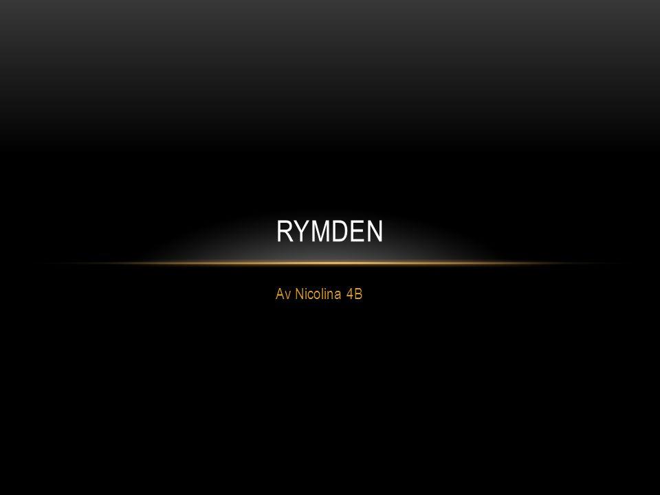 Rymden Av Nicolina 4B
