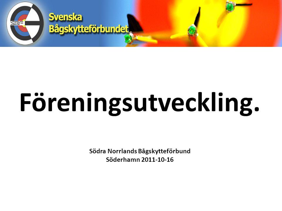 Södra Norrlands Bågskytteförbund Söderhamn 2011-10-16