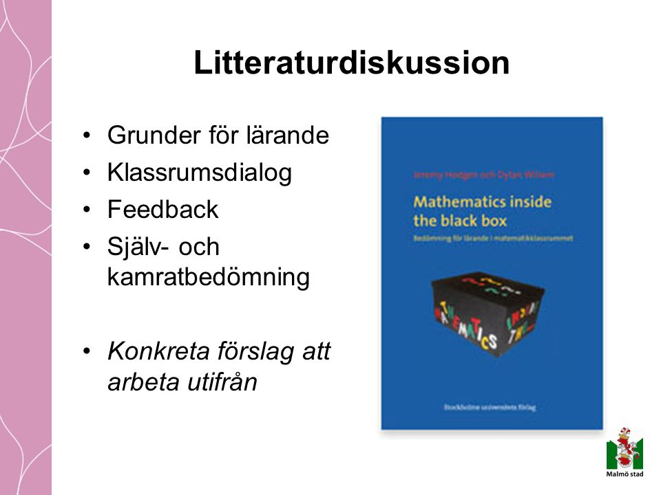 Litteraturdiskussion