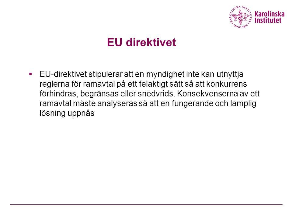 EU direktivet