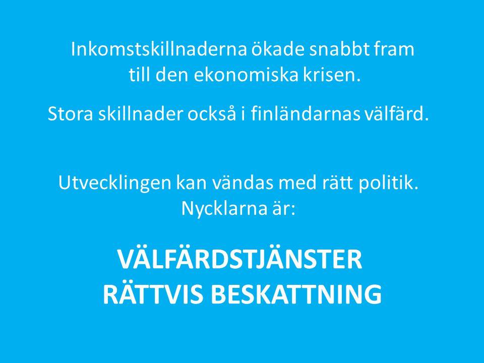 VÄLFÄRDSTJÄNSTER RÄTTVIS BESKATTNING