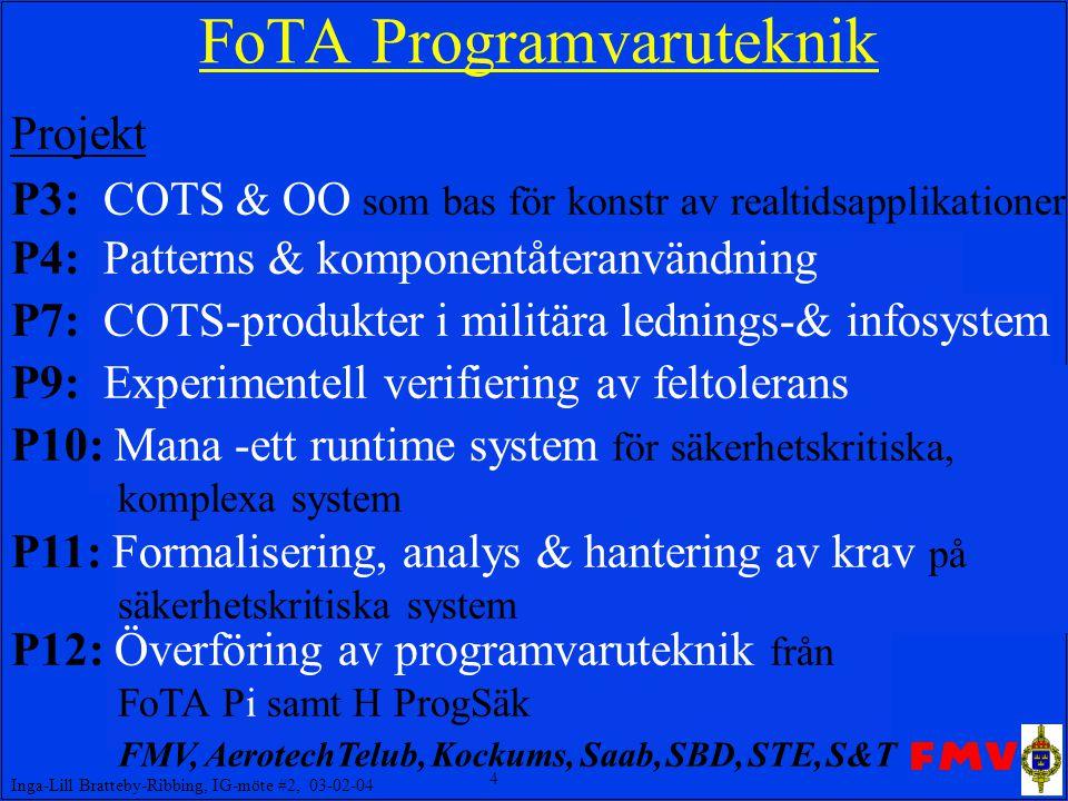 FoTA Programvaruteknik