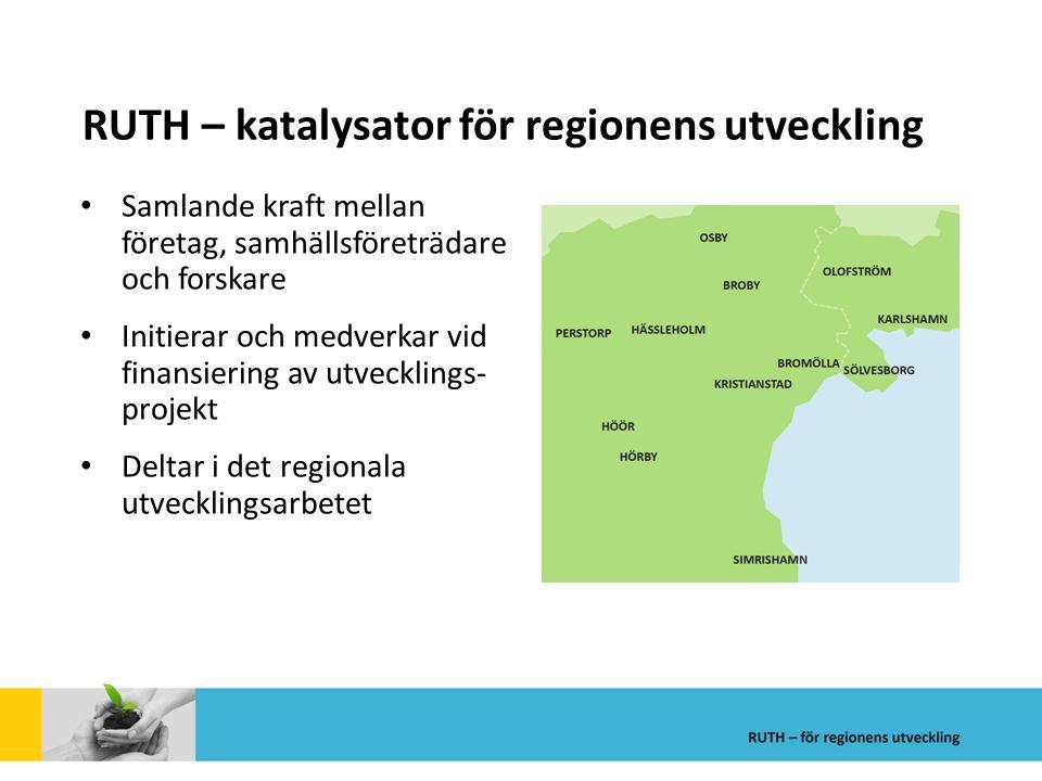 RUTH – katalysator för regionens utveckling