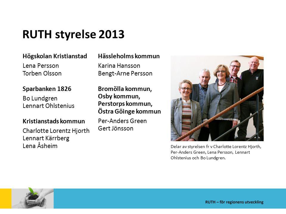 RUTH styrelse 2013