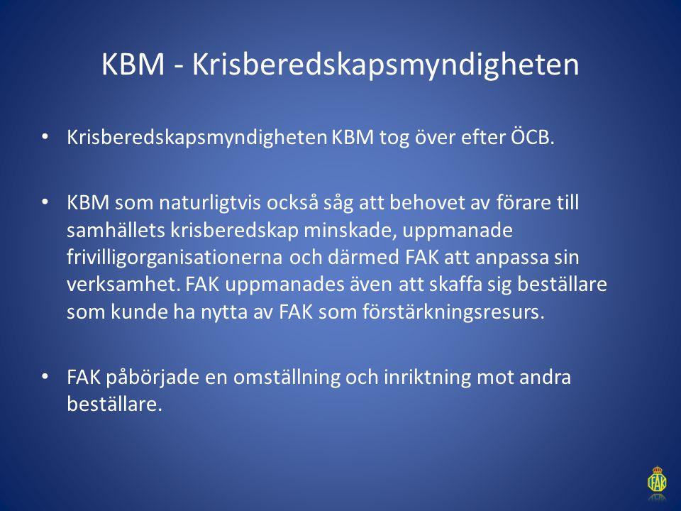 KBM - Krisberedskapsmyndigheten