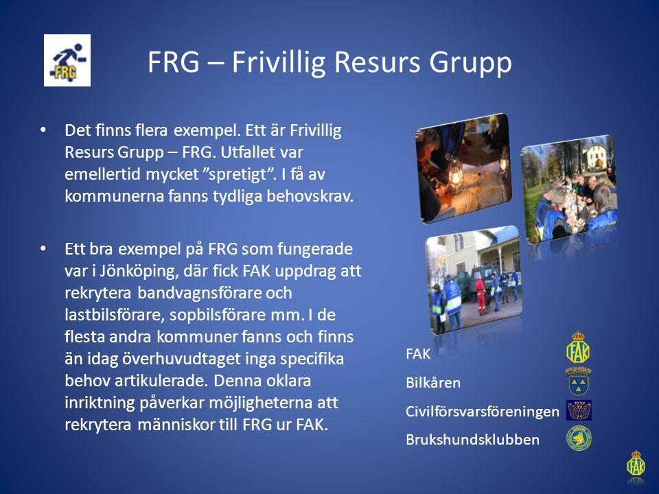FRG – Frivillig Resurs Grupp