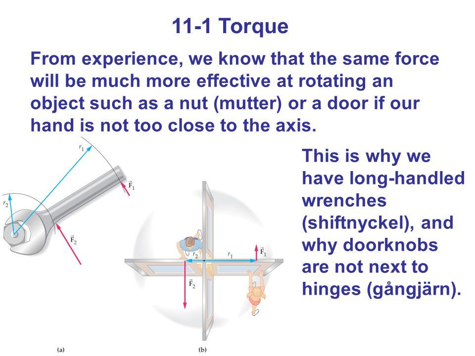 11-1 Torque