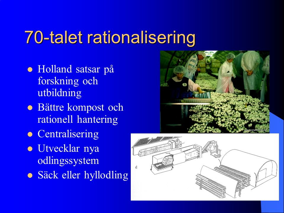 70-talet rationalisering