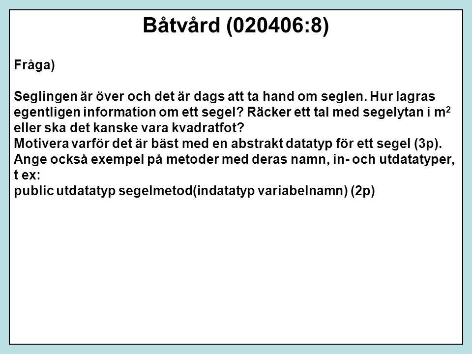 Båtvård (020406:8) Fråga)