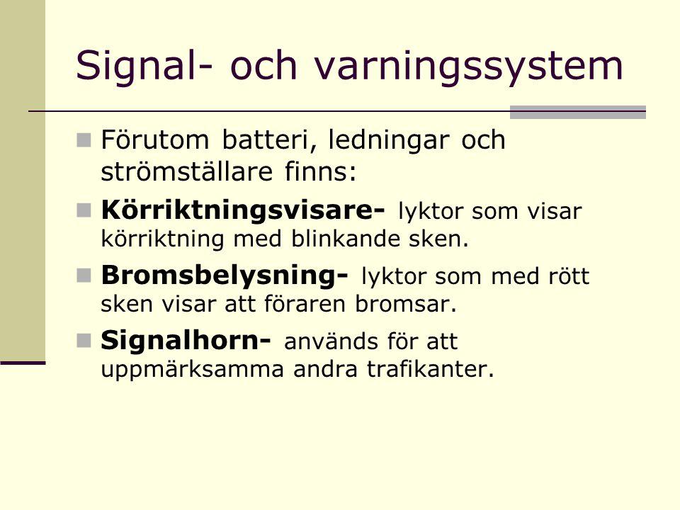Signal- och varningssystem