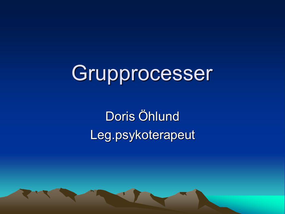 Doris Öhlund Leg.psykoterapeut