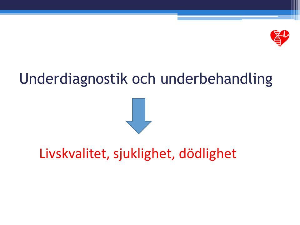 Underdiagnostik och underbehandling