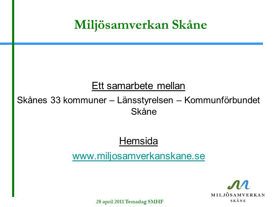 Skånes 33 kommuner – Länsstyrelsen – Kommunförbundet Skåne