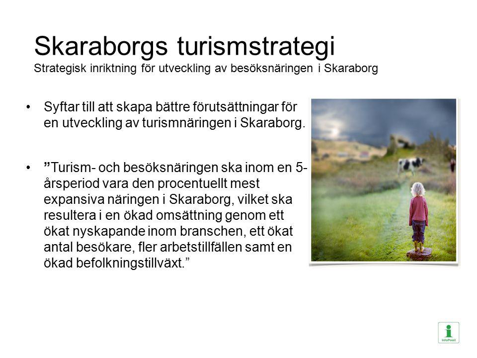 Skaraborgs turismstrategi Strategisk inriktning för utveckling av besöksnäringen i Skaraborg