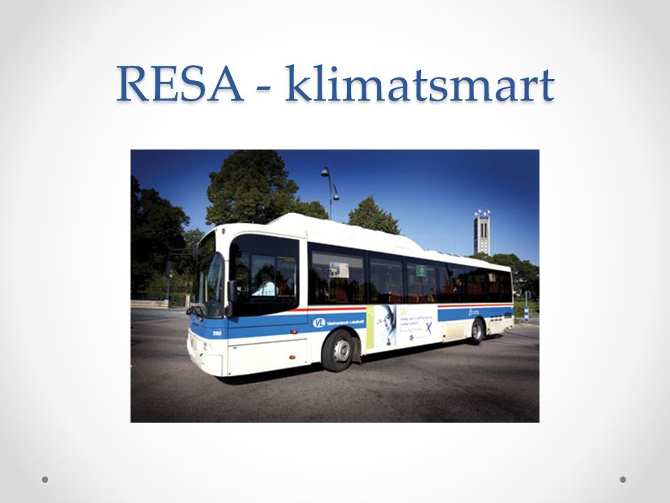 RESA - klimatsmart