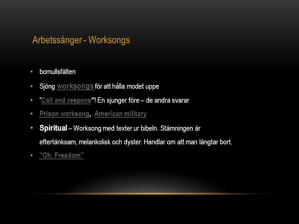 Arbetssånger - Worksongs