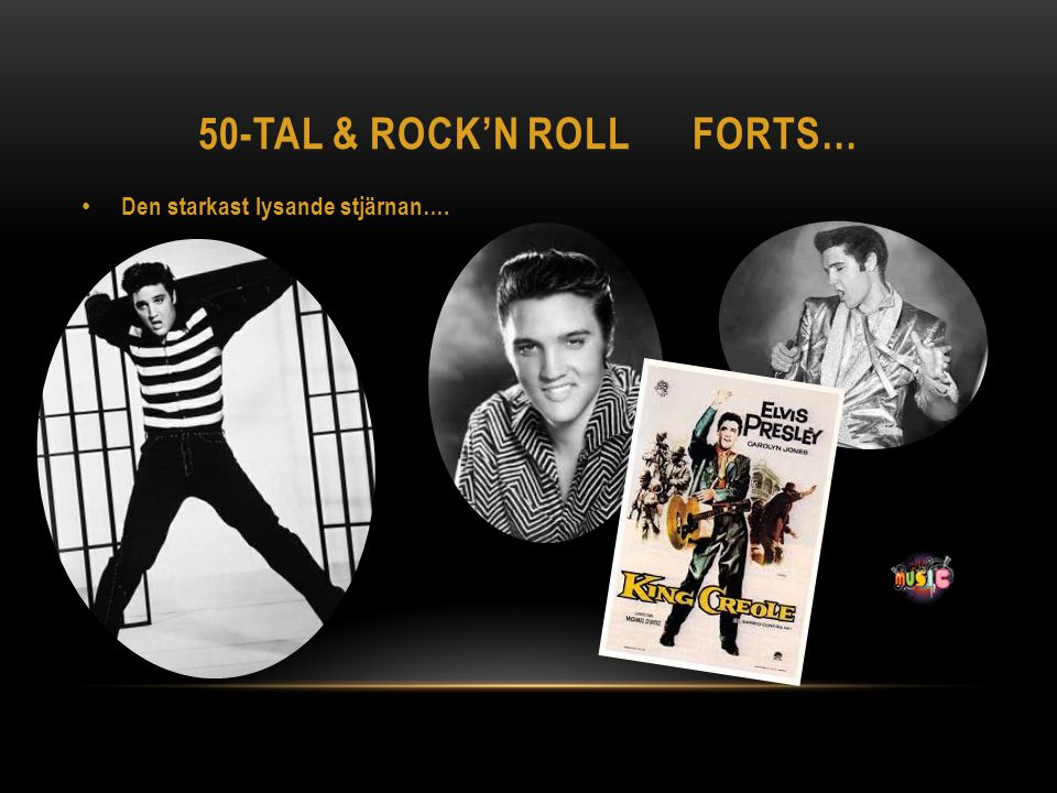 50-tal & Rock'n roll forts…