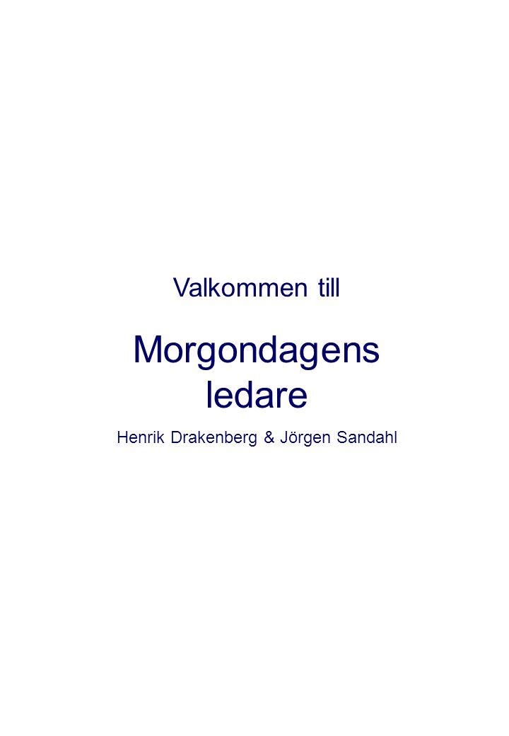 Henrik Drakenberg & Jörgen Sandahl