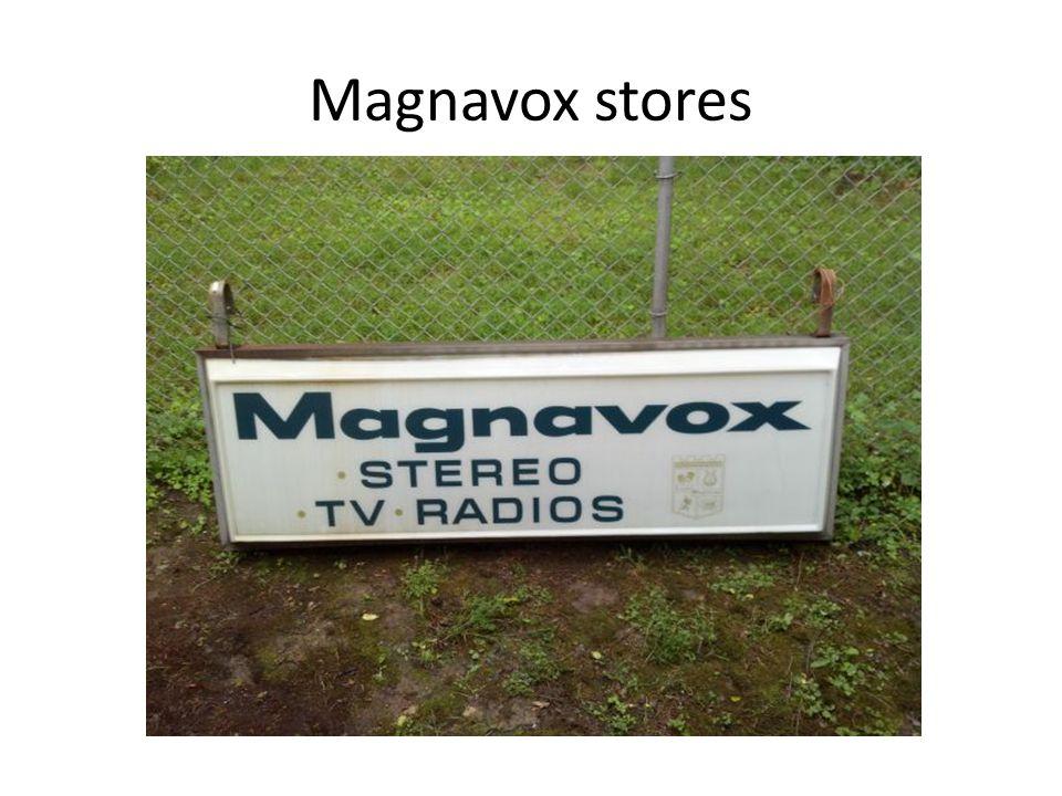 Magnavox stores
