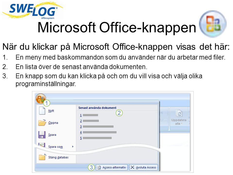 Microsoft Office-knappen