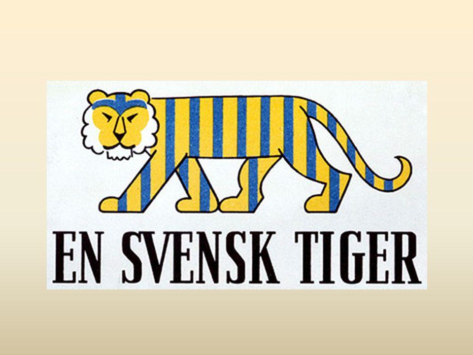 En svensk tiger skapades av Bertil Almqvist på uppdrag av Statens Informationsstyrelse, SIS, hösten 1941.