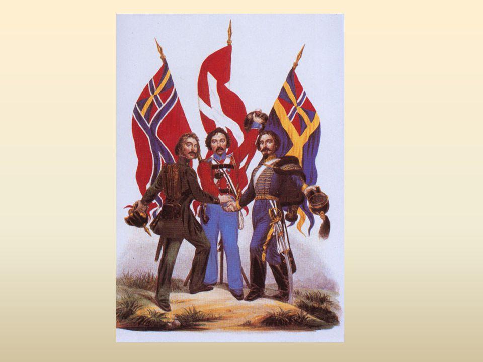 Propagandaaffisch föreställande skandinavismen