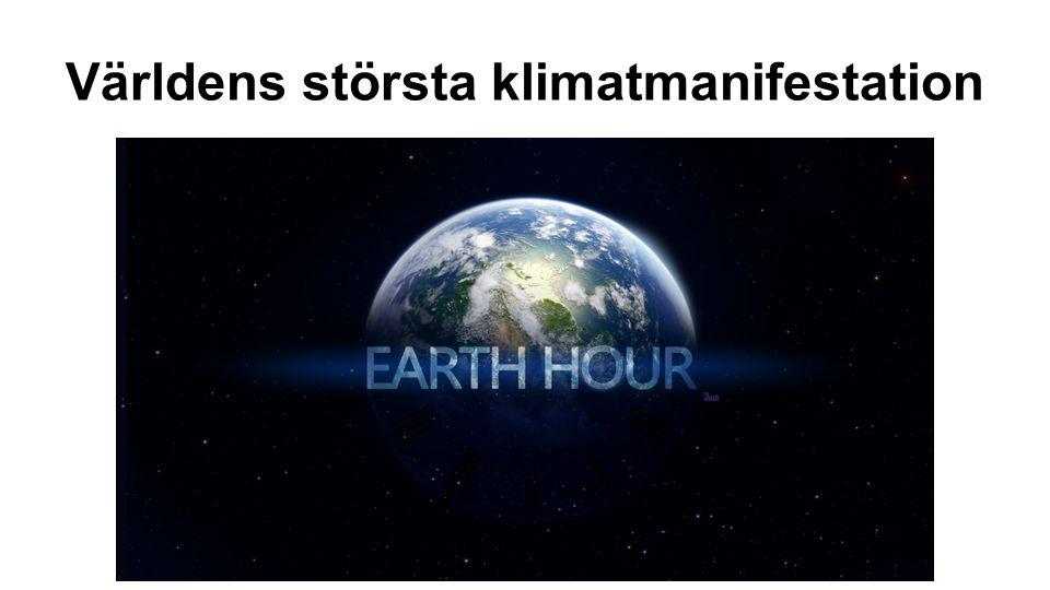 Världens största klimatmanifestation