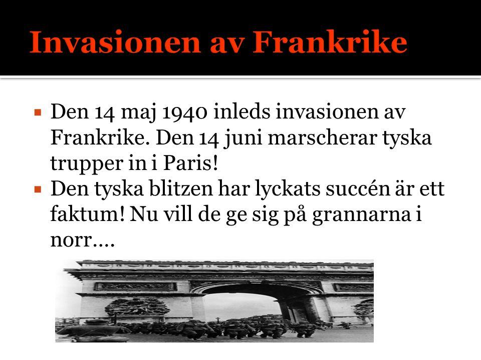 Invasionen av Frankrike