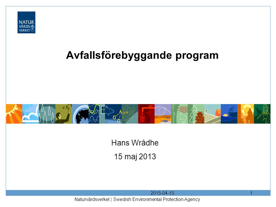 Avfallsförebyggande program