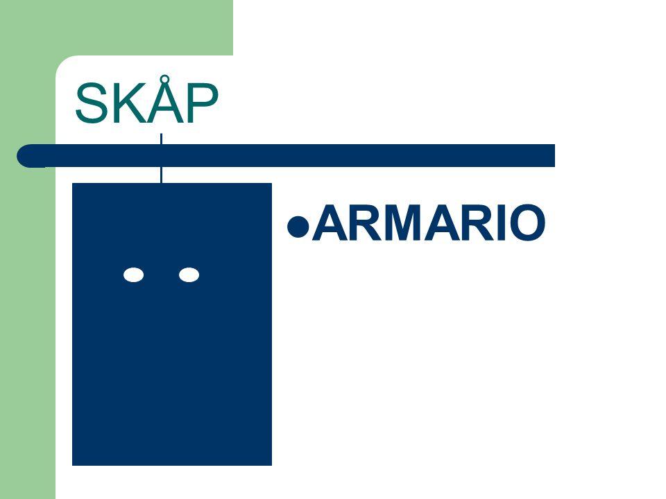 SKÅP ARMARIO