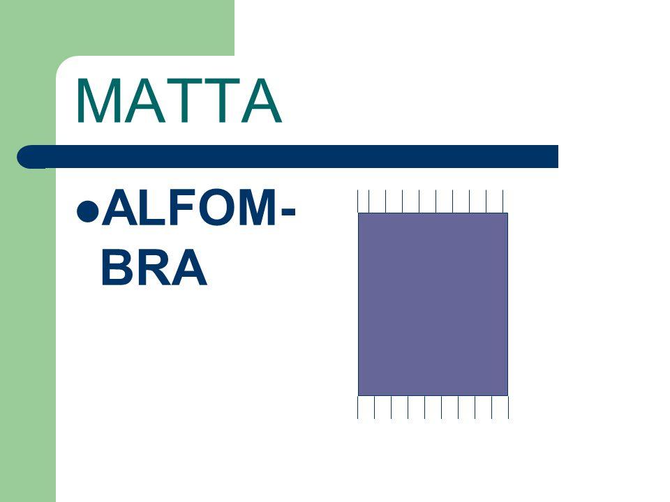 MATTA ALFOM-BRA