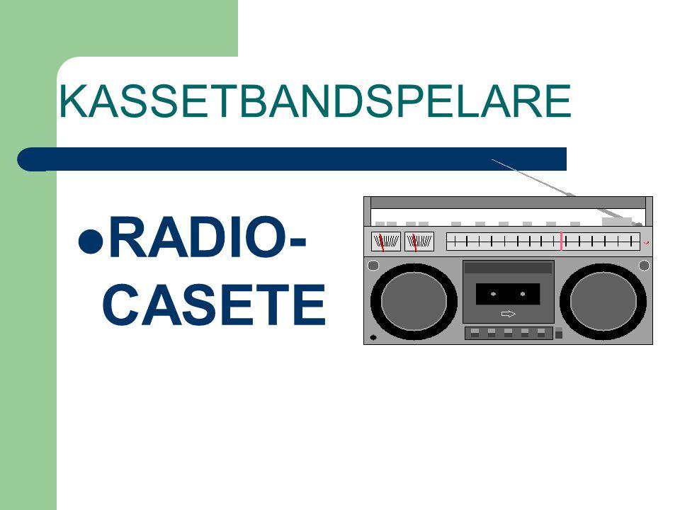 KASSETBANDSPELARE RADIO-CASETE