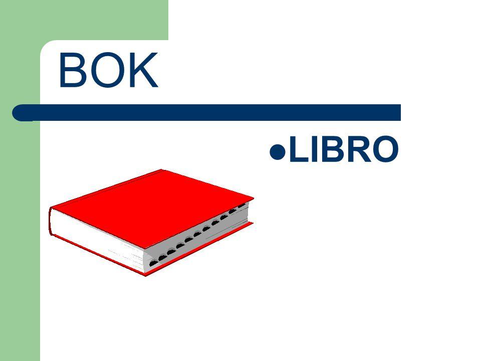 BOK LIBRO