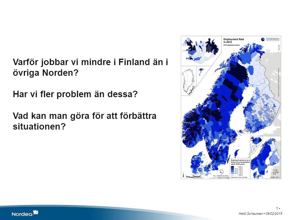 Varför jobbar vi mindre i Finland än i övriga Norden